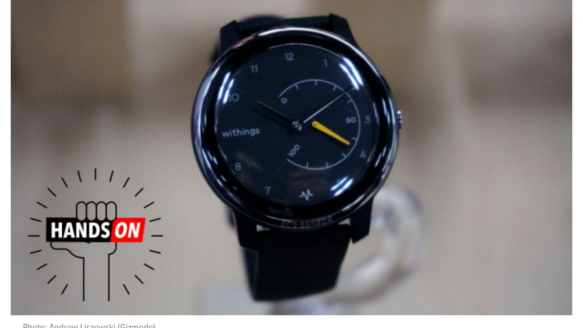 Withings follows Omron with BP on watch